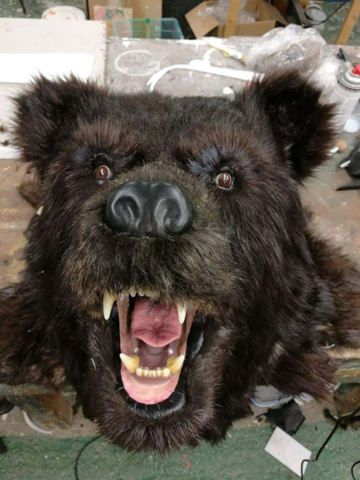 Bear face 2