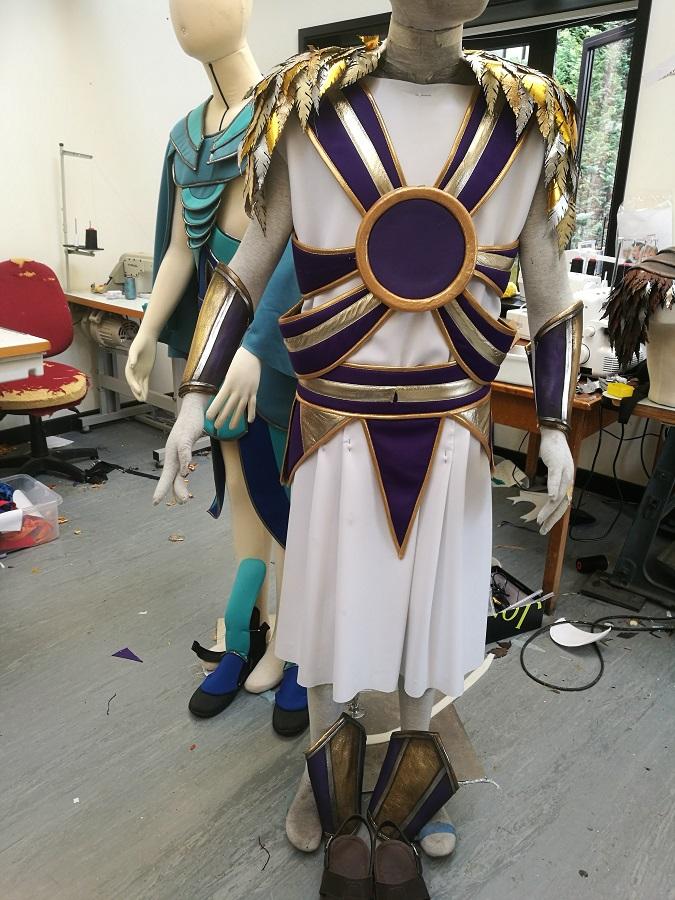 Greek style costume
